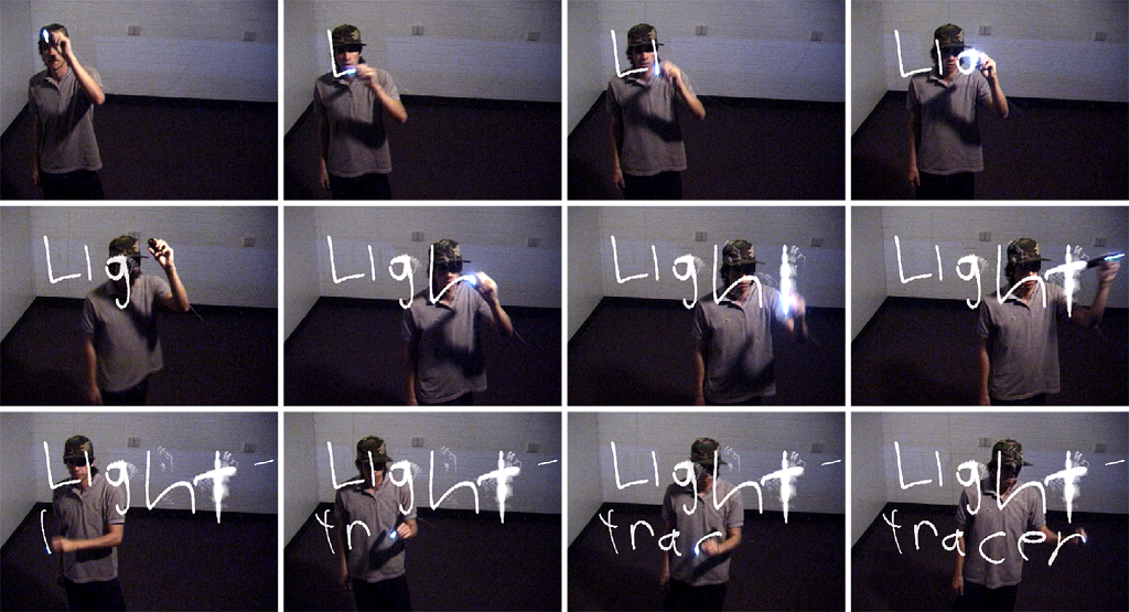Drawing with Light Tracer