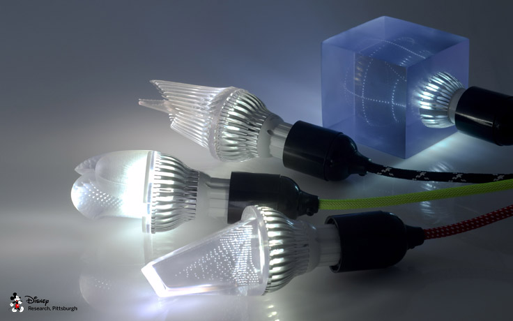 3D printed light bulbs enable many exciting new form factors.
