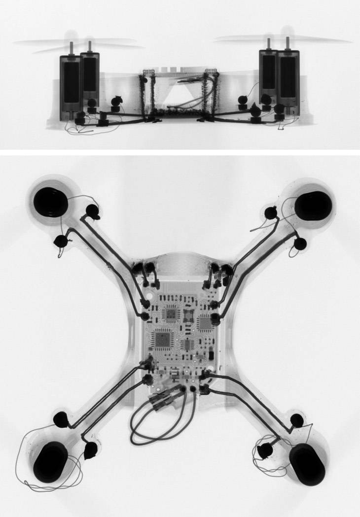 Quadcopter CT Scan
