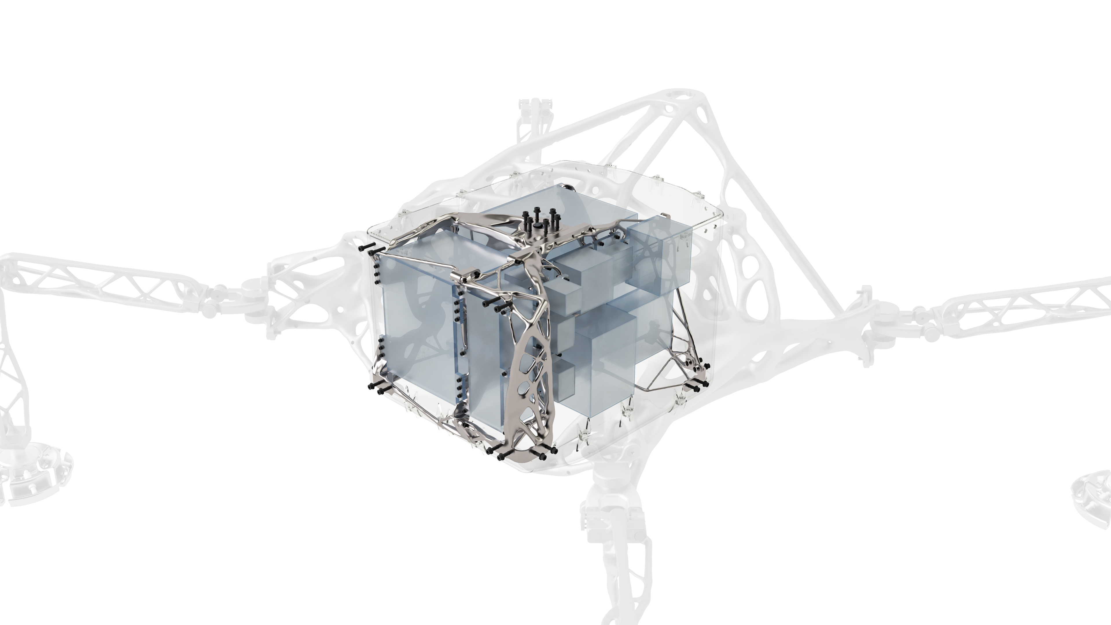 Space Exploration Lander Interna; Structure and Payloads