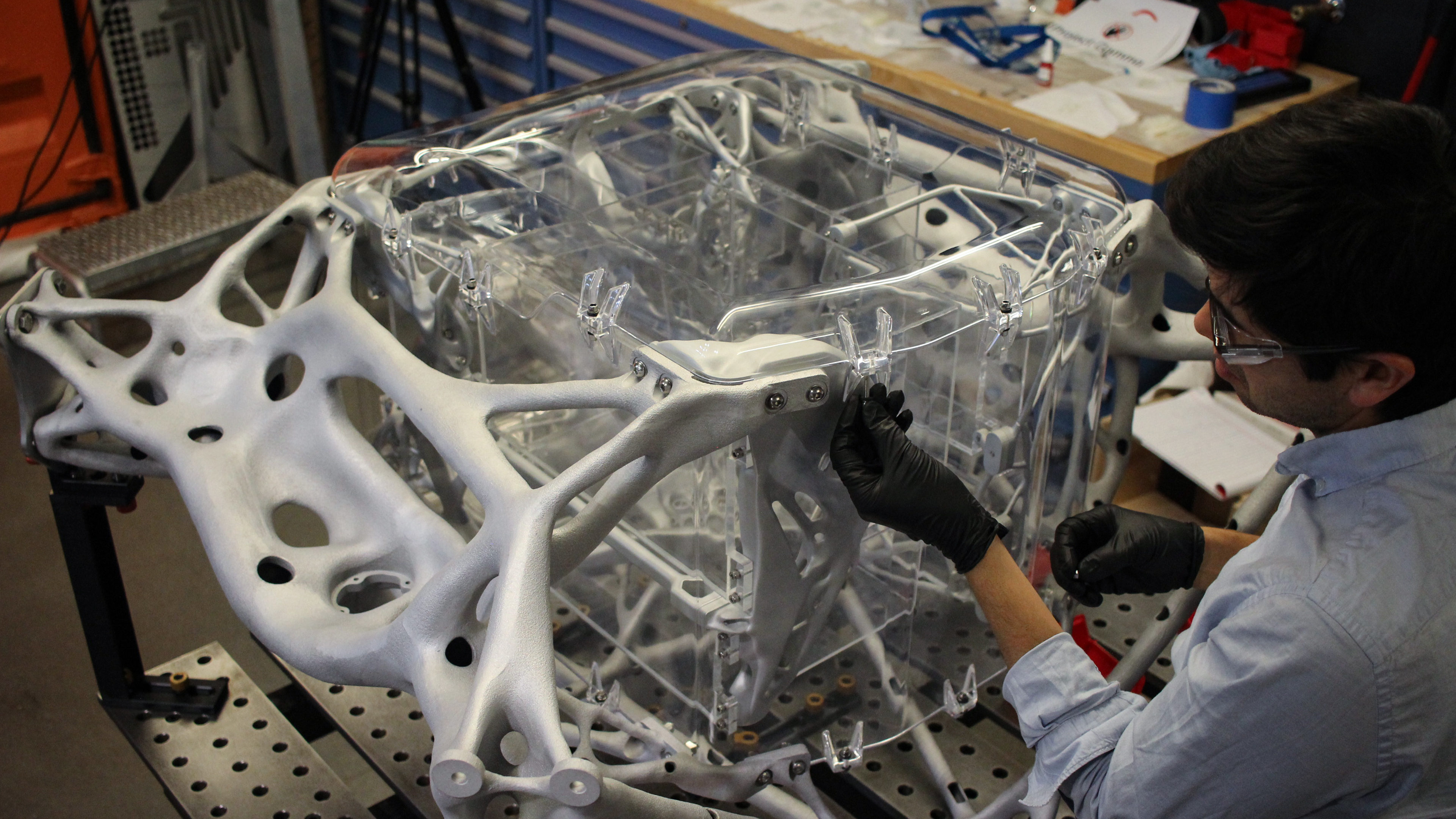 Space Exploration Lander Assembly