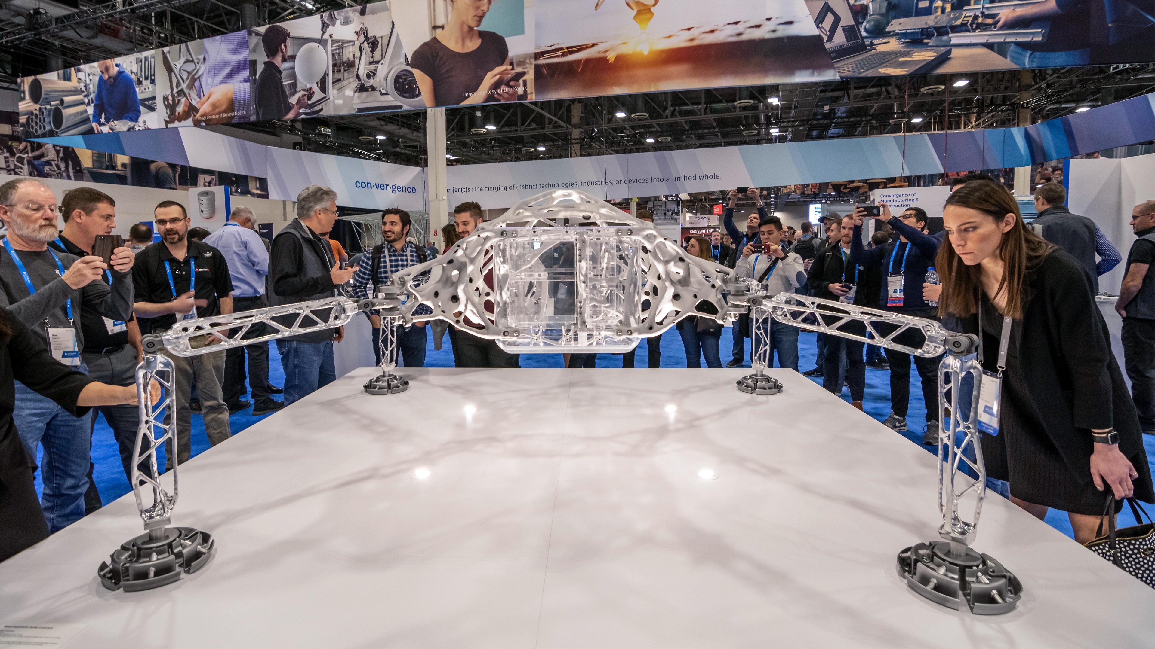 Space Exploration Lander Exhibition at AU 2018