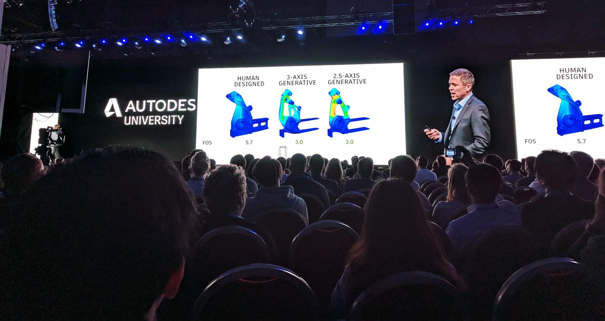 Autodesk University Manufacturing Keynote