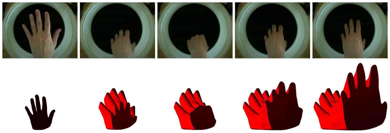 Hand in Water Sequence