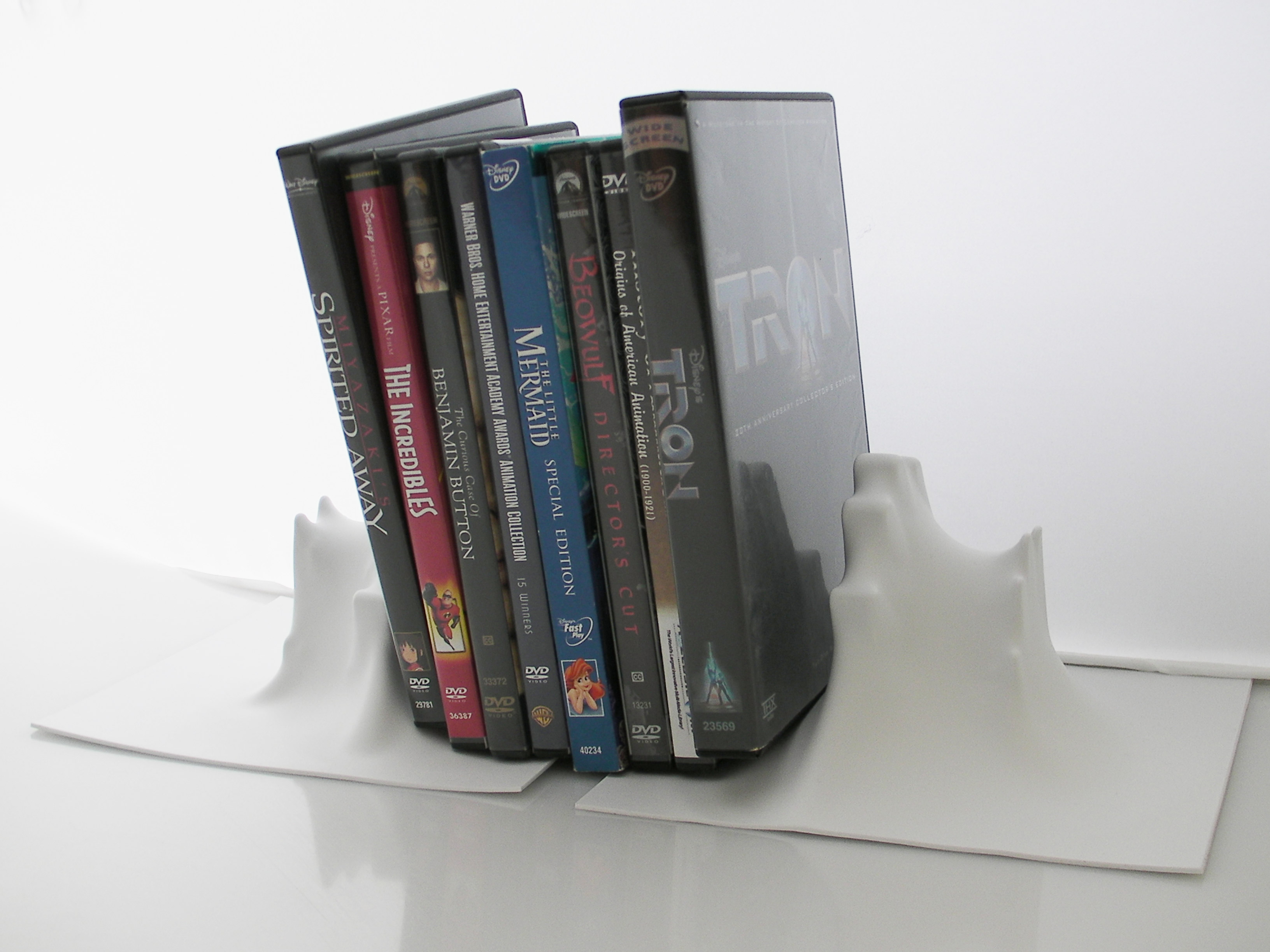 Vacuum Form Bookends